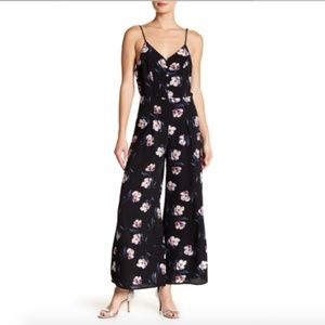 Everleigh Floral Jumpsuit NWOT